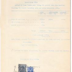 12 Document vechi fiscalizat -Braila-Chitanta-1932-Abramovici...