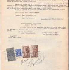 29 Document vechi fiscalizat -1939 -Braila -Comisiunea de apel