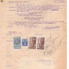 30 Document vechi fiscalizat -1939 -Braila -Raport de expertiza