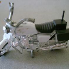 Macheta model motocicleta politie NYPD