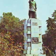 S11566 BISTRITA Statuia lui Andrei Muresanu NECIRCULAT