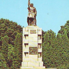 S11567 BISTRITA Statuia lui Andrei Muresanu NECIRCULAT