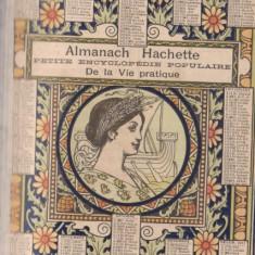 Almanach Hachette 1911 - Almanah