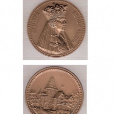 AC 103 Medalia Regina Maria 1914-1938 - Medalii Romania