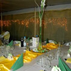 Vaze inalte - Decoratiuni nunta