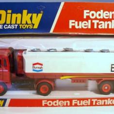 1/43 DINKY-FODEN FUEL TANKER +1500 LICITATII - Macheta auto