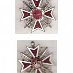 """AC 111 Ordinul,, Coroana Romaniei"""" model 1916 de razboi - Medalii Romania"""