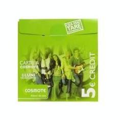 Cartele COSMOTE de 5 euro_ CEL MAI IEFTIN!!! - Cartela Cosmote