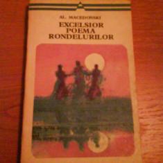 1202 Al.Macedonsky-Excelsior Poema Rondelurilor - Roman, Anul publicarii: 1977
