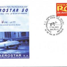 Plic avion militar IAK-17UTI, fost in dotarea aviatiei romane