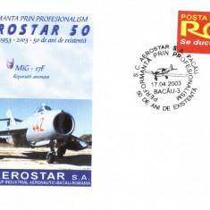 Plic avion militar MiG-17F, fost in dotarea aviatiei romane
