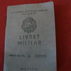 LIVRET MILITAR 1959