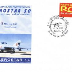 Plic avion militar MiG-15UTI, fost in dotarea aviatiei romane