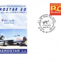 Plic avion militar MiG-15Bis, fost in dotarea aviatiei romane