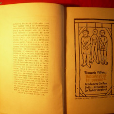 FRANCOIS VILLON - BALADE SI ALTE POEME 1956 - Carte poezie
