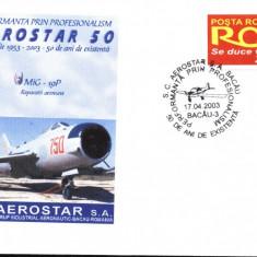Plic avion militar Mig-19P, fost in dotarea aviatiei militare