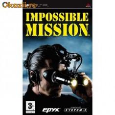 IMPOSSIBLE MISSION (PSP) SIGILAT (ALVio) + sute de alte jocuri psp ( vand schimb )
