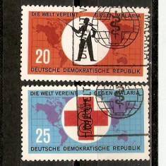 Timbre Germania DDR 1962 Malaria - Timbre straine