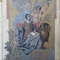 Petofy Album , in limba maghiara , aparut inainte de 1900