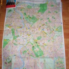 Harta si ghid turistic Roma (anii '80)