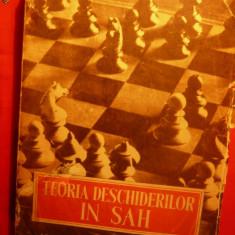 Paul Keres - Teoria Deschiderilor in SAH - 1952 - Carte sport