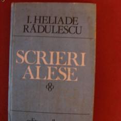 SCRIERI ALESE de I. HELIADE RADULESCU