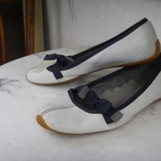 Balerini, pantofi ZARA TRF piele 37 - Balerini dama