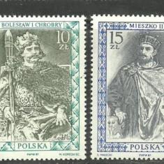 Polonia 1987 - PICTURA REGI POLONEZI serie nestampilata A169 - Timbre straine