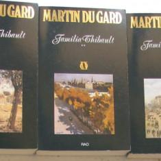 Volum - Carti - RAO 292 - Familia Thibault - Martin du GARD - 3 vol.