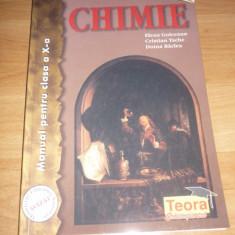 Manual Chimie clasa aXa - Manual scolar teora, Teora