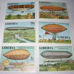 LIBERIA - 1978 - DIRIJABILE - NEUZATE - Timbre straine