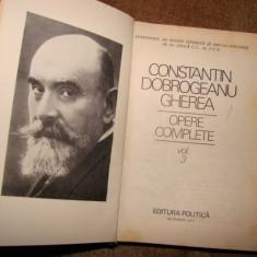 OPERE COMPLETE de CONSTANTIN DOBROGEANU GHEREA VOL. 3 - Roman