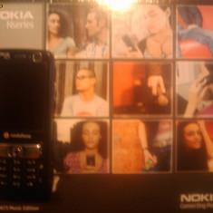 Vand Nokia N73 Music Edition - Telefon Nokia, Negru, Neblocat, Clasic, Symbian OS, 240x320 pixeli (QVGA)