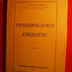 C.Radulescu-Motru - Personalismul Energetic -Prima Ed.1927