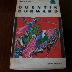 QUENTIN DURWARD WALTER SCOTT