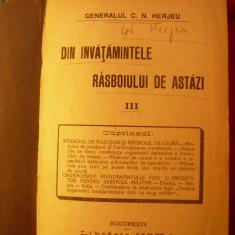 DIN INVATAMINTELE RAZBOIULUI DE AZI-GEN.HERJEU-1916