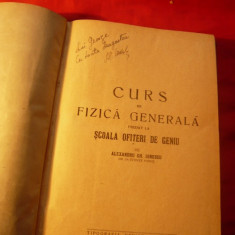 Curs de Fizica Gen. - Pt.Scoala de Ofiteri de Geniu - ed. 1935