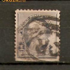 Timbre America 1890-93 FRANKLIN