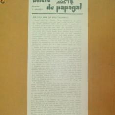 Revista Bilete de papagal nr 252 1928