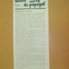 Revista Bilete de papagal nr 259 1928