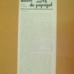 Revista Bilete de papagal nr 255 1928