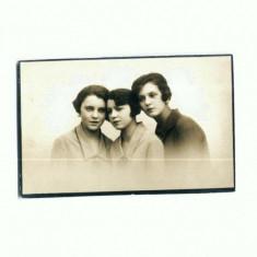 D FOTO 25 -Gica, Titina si Nela -Foto Lux Zalevski -Braila 1927