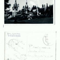 CP122 -28 Sinaia -Castelul Peles -circulata 1942 -cenzurata - Carte Postala Muntenia dupa 1918