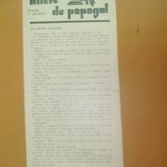 Revista Bilete de papagal nr 266 1928