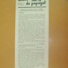 Revista Bilete de papagal nr. 231 1928
