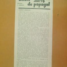 Revista Bilete de papagal nr 287 1929