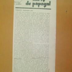 Revista Bilete de papagal nr 298 1929