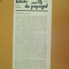 Revista Bilete de papagal nr 293 1929