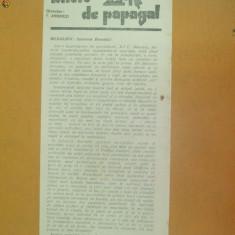 Revista Bilete de papagal nr 320 1929