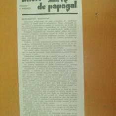 Revista Bilete de papagal nr 437 1929